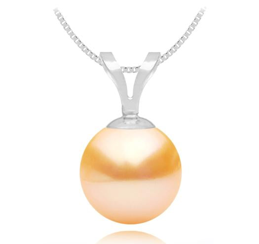 Freshwater Pearl Pendant - 6-9.5mm - 14KT Gold