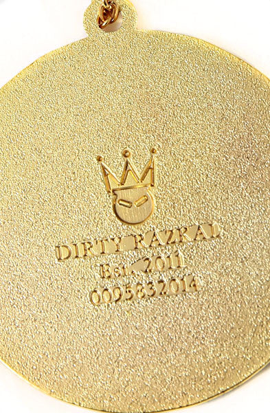 Dirty Crown Pendant | Limited Edition