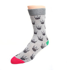 KingMe sock | Grey