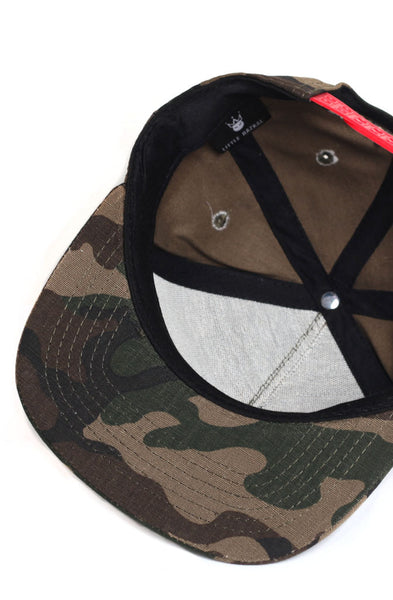 Little King Camo Snapback