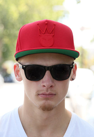 KingMe Snapback | Red