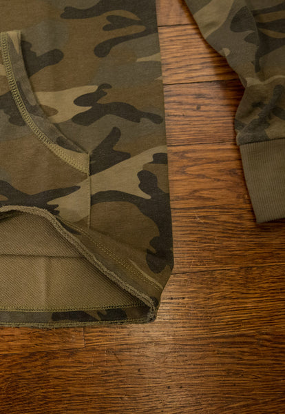 Camo Patch Hoodie