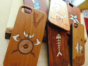 Custom Wooden Case with Inlay