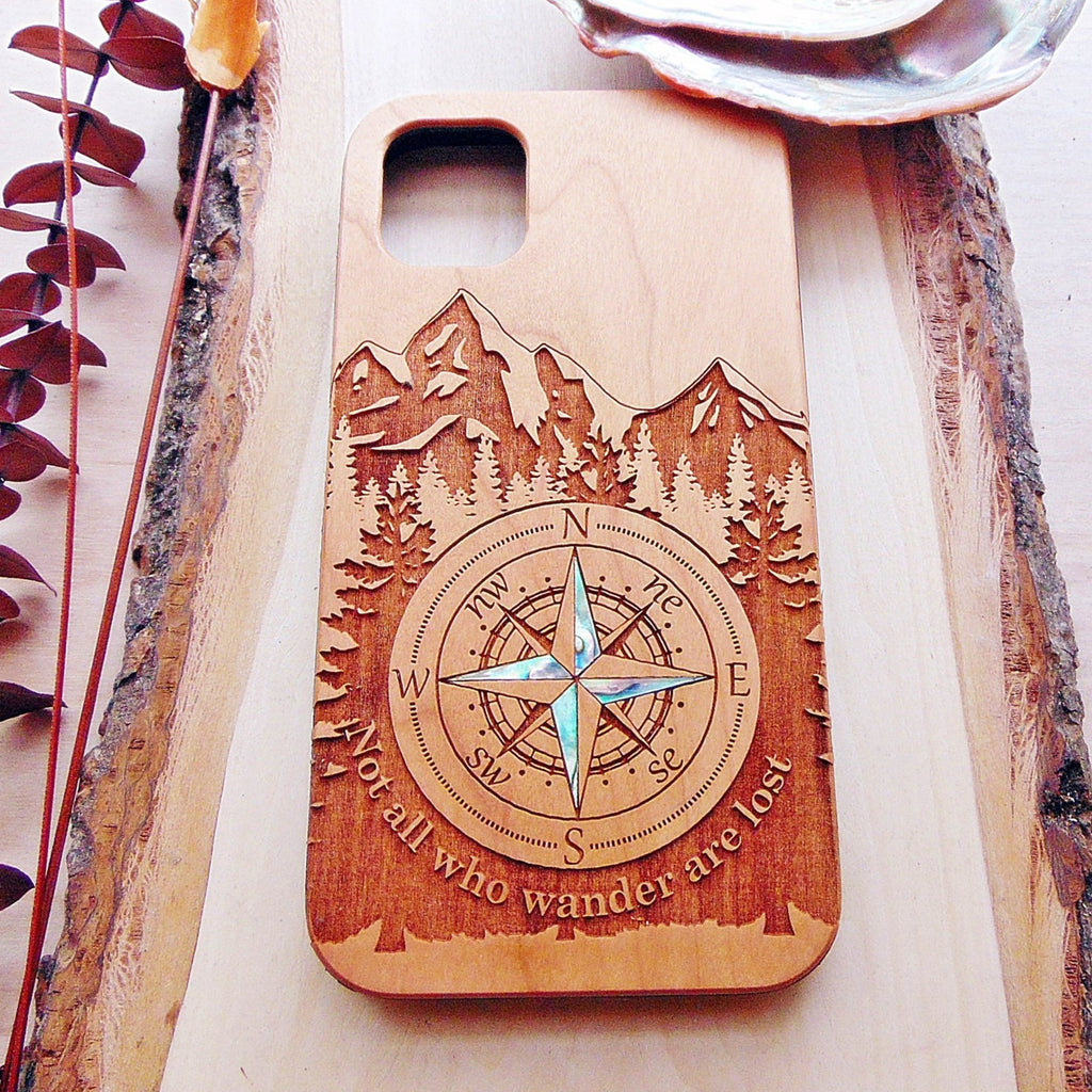 mountains design phone case
