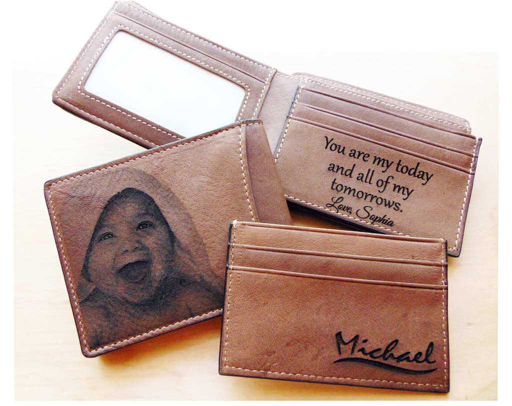 Photo Engraved Wallet