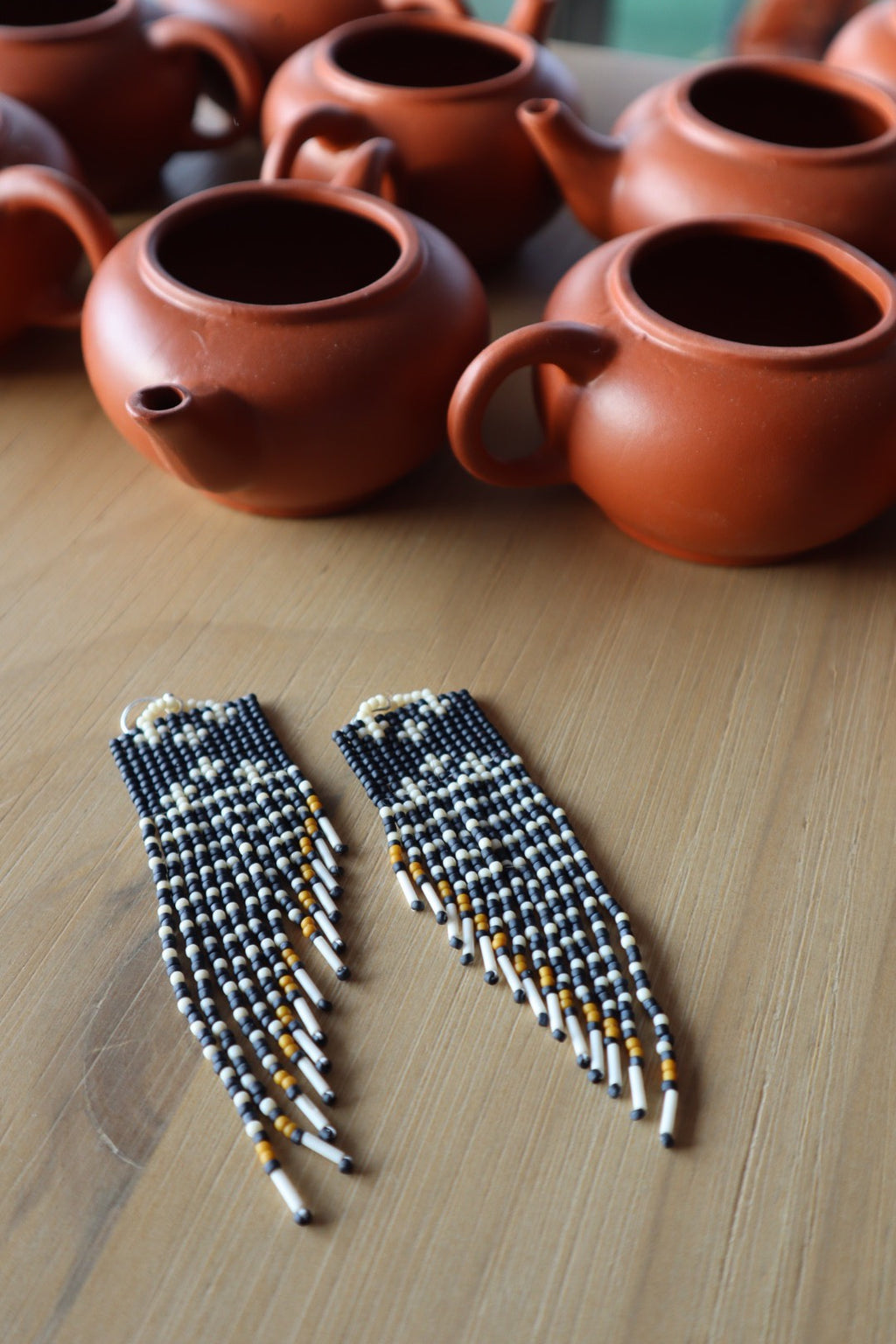 FEBRUARY  29 6PM   Intro to Brick Stitch Beading :  Earrings