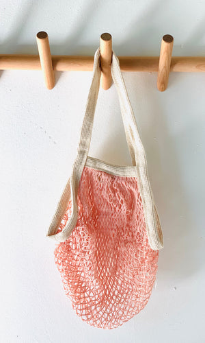 Market Bag with Contrast Trim