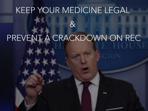 Keep Your Medicine Legal & Prevent a Crackdown on REC