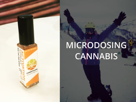 Microdosing: CannaAthlete's Activation Spray Product Review