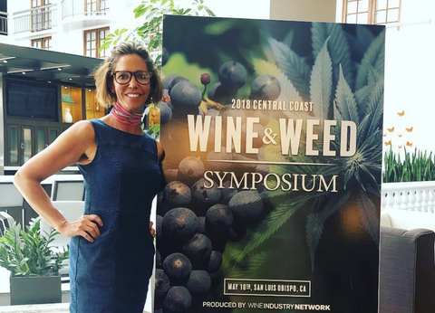 HelloMD's Co-founder Pamela Hadfield Speaks at Wine & Weed