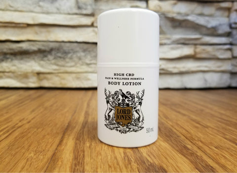 Product Spotlight: Lord Jones CBD Pain & Wellness Lotion
