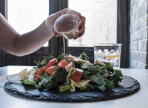 DIY Recipe: Easy Lemon-Balsamic Hemp CBD Salad Dressing