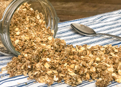 DIY Recipe: Crunchy & Delicious Hemp CBD Granola