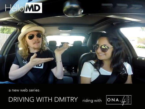 Driving with Dmitry Episode 1: Ona.Life