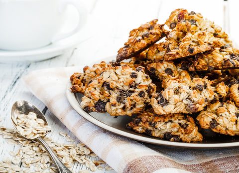 DIY Recipe: Healthyish CBD Oatmeal Raisin Cookies
