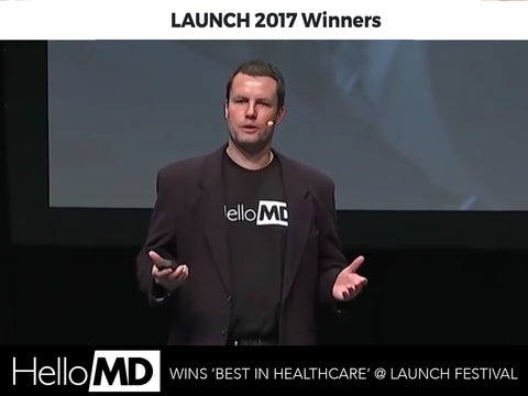 HelloMD Wins 'Best in Healthcare' at Launch Festival 2017