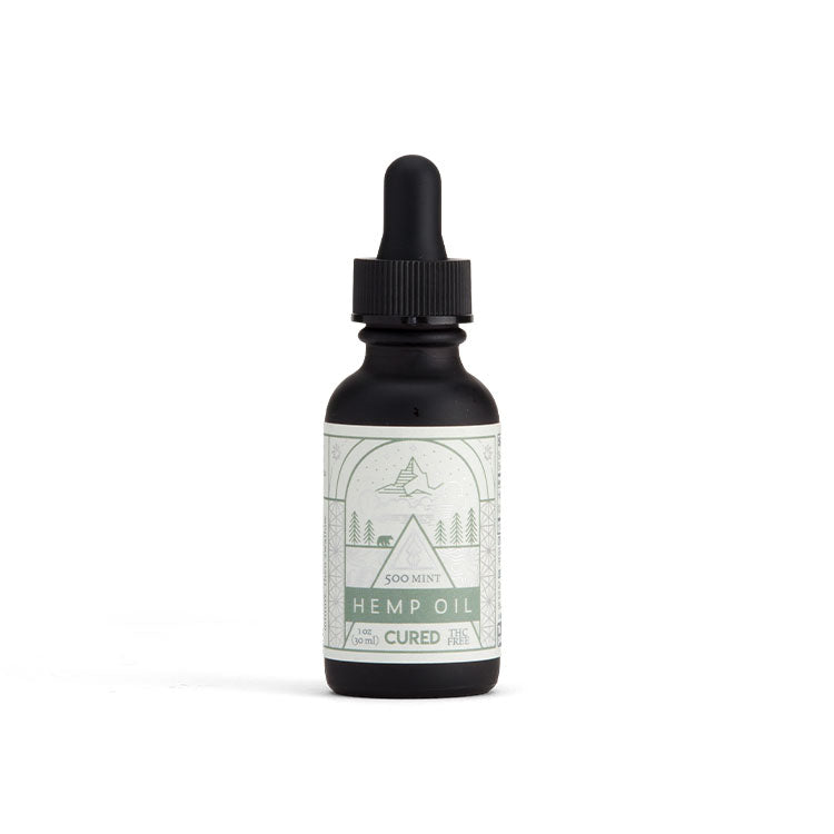 CURED - CBD Tincture - Mint