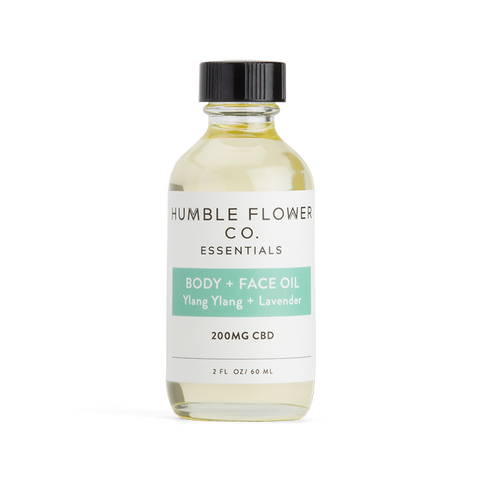 Humble Flower Co - Body & Face Oil