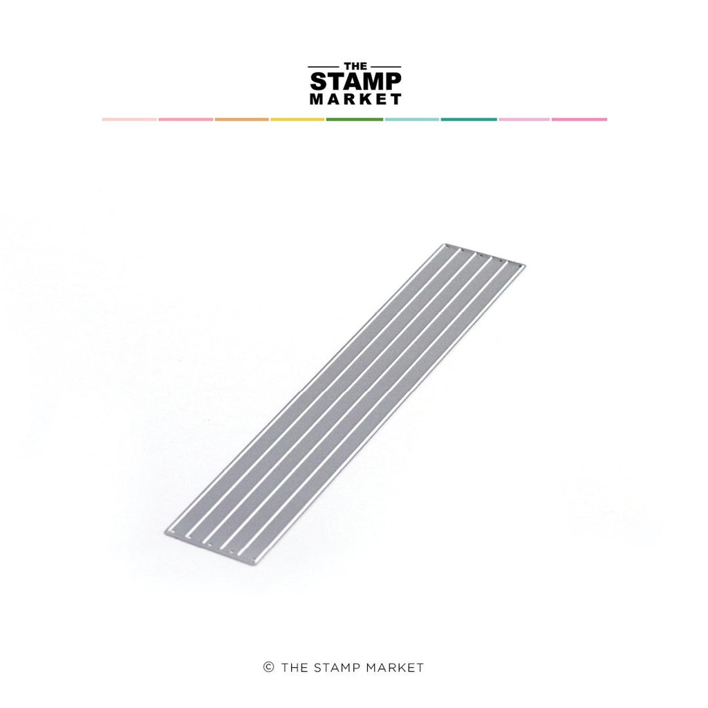 "1/4"" Quick Strips Die - The Stamp Market"