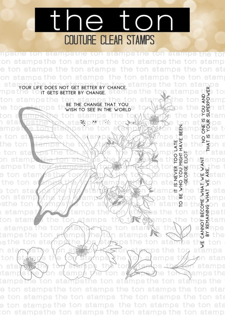 Transformation - The Ton Clear Stamps