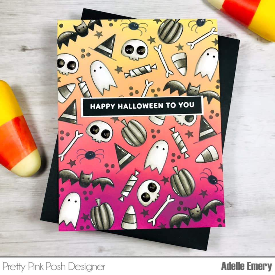 Boo Clear Craft Stamp Set | Pretty Pink Posh