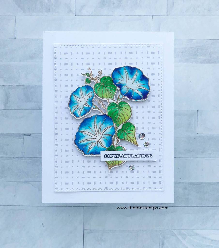 Galeria Print Cling Background - The Ton Stamps