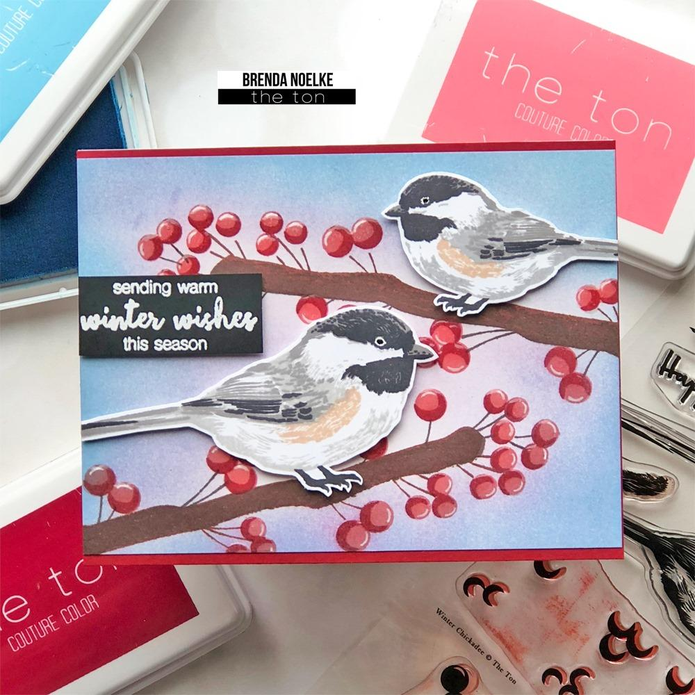 Winter Chickadee - The Ton Clear Stamps