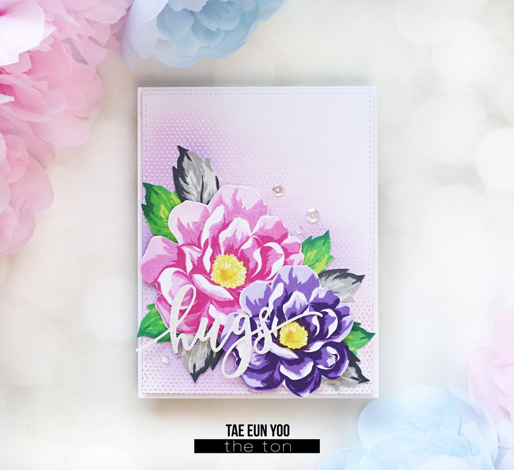 Noted Peonies- The Ton Clear Stamps