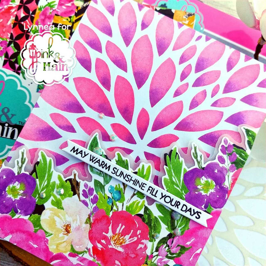Fantastic Florals 6x6 Paper Pad - Pink and Main