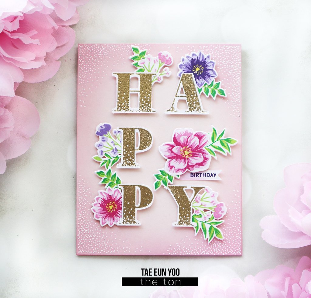 Floral Bits 2 Coordinating Die - The Ton Stamps