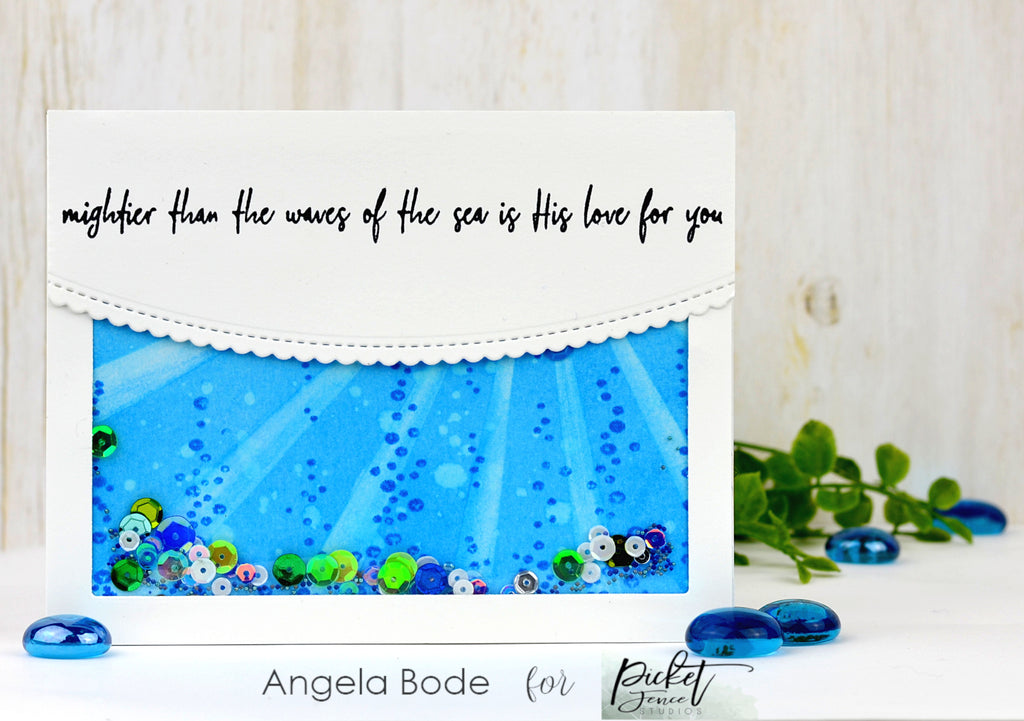 "6""x6"" A Bottomless Sea stamp set"
