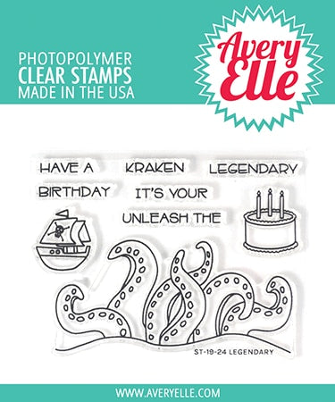 Legendary - Clear Stamps