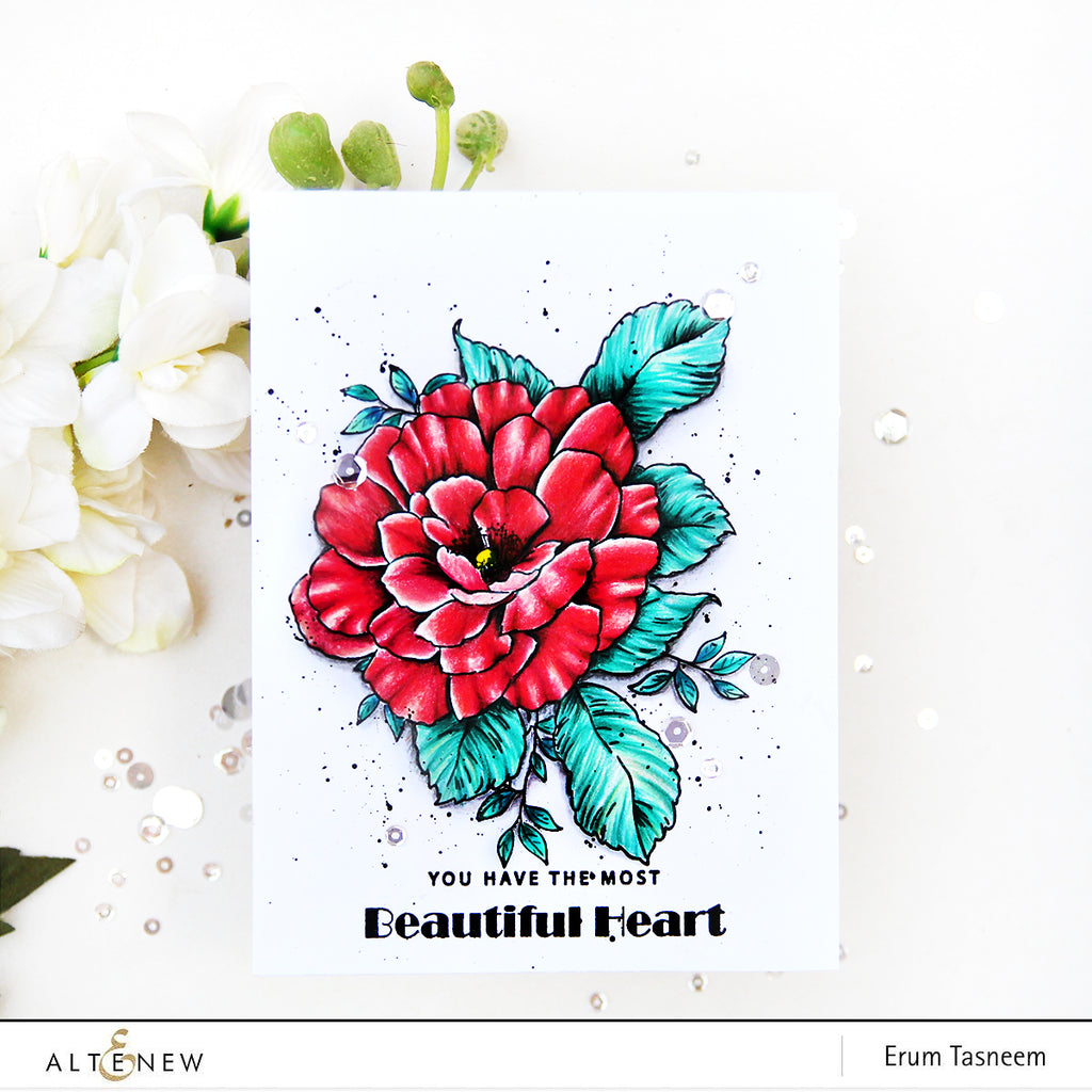 Beautiful Heart Stamp Set