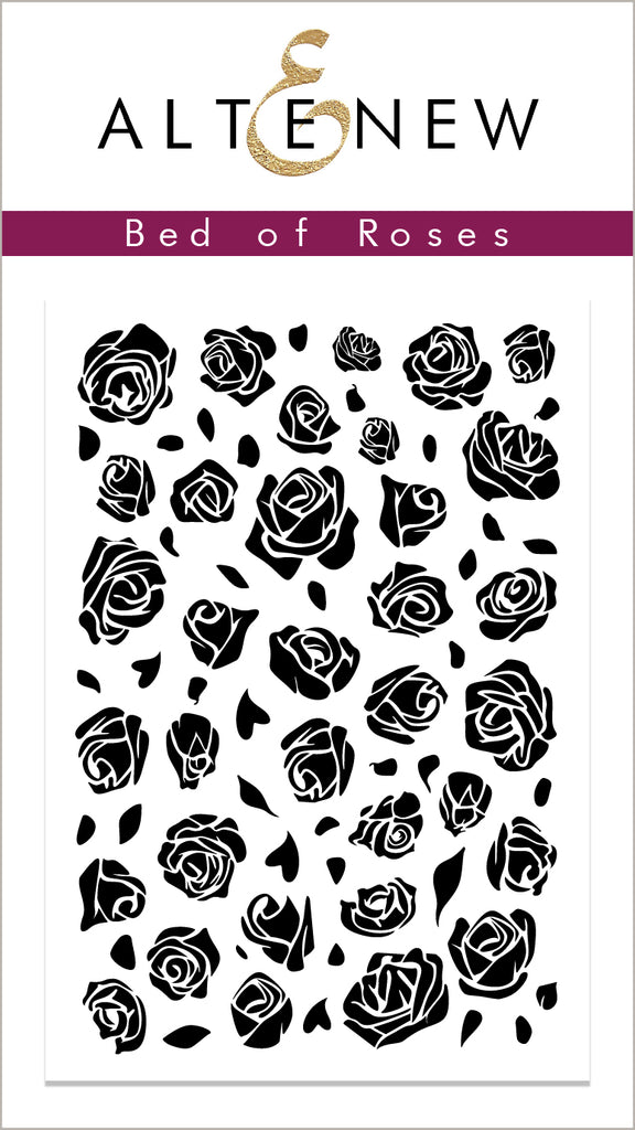 Bed of Roses Stamp Set