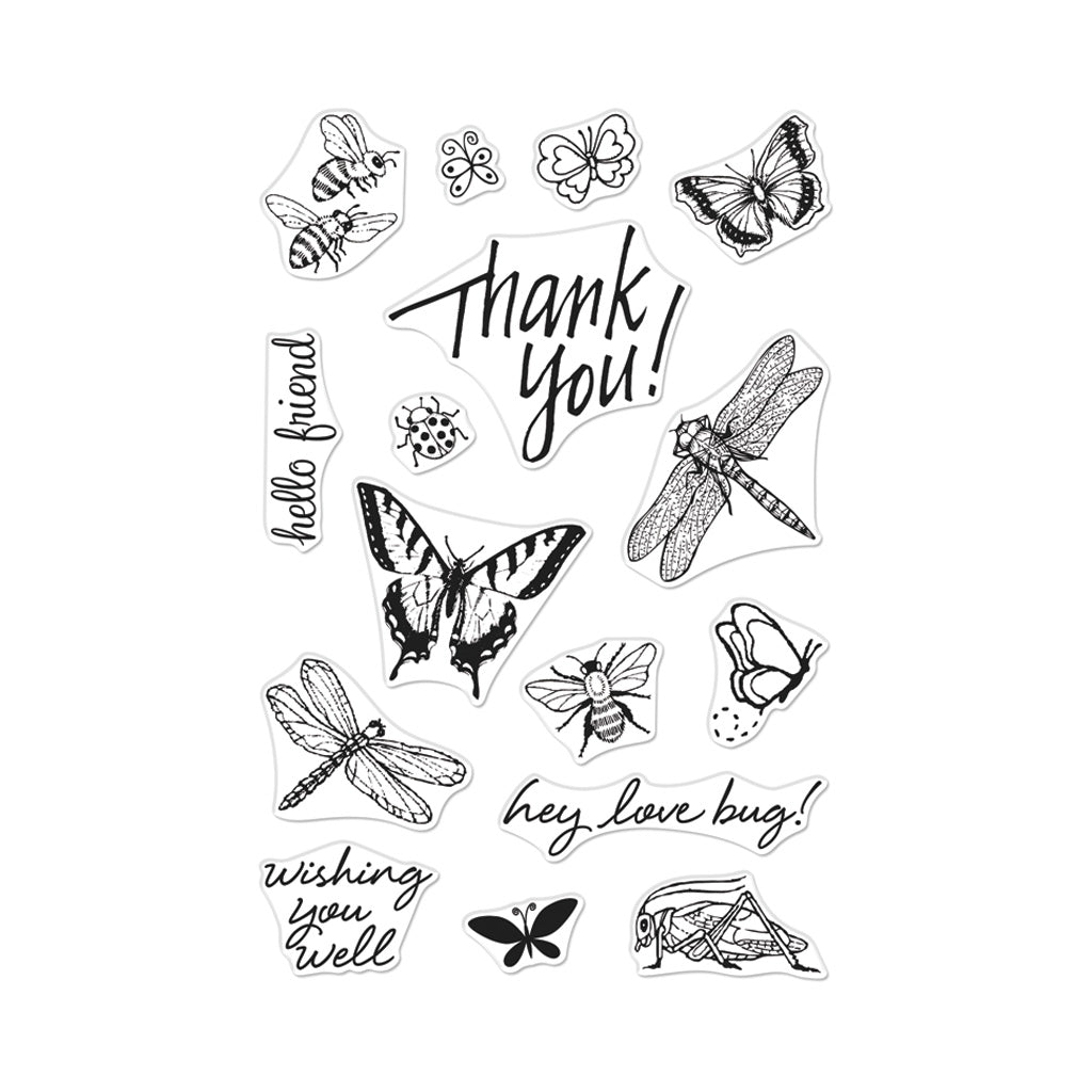 "Bugs - ""From The Vault"" Clear Stamps"