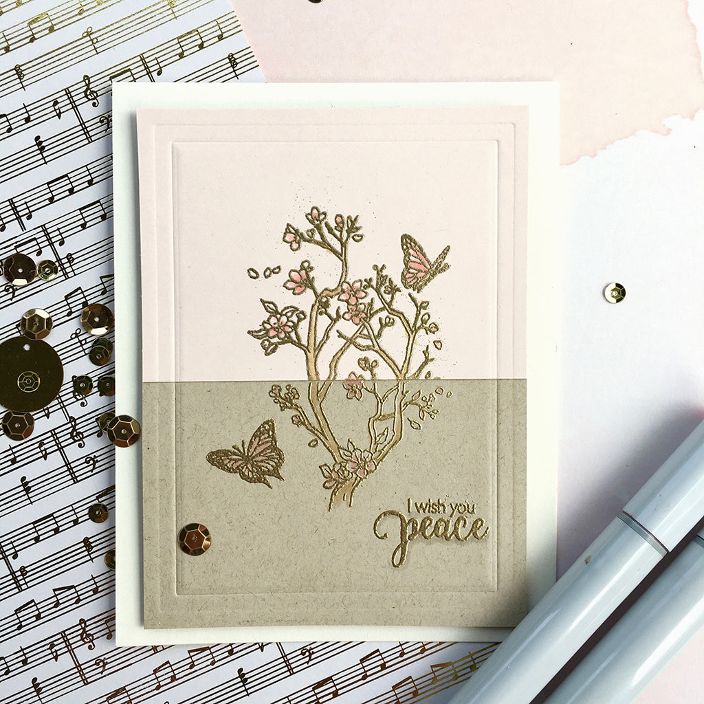 Staggering Branches Clear Stamps