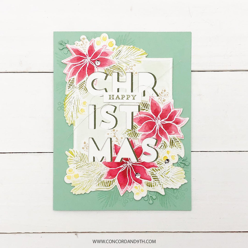 Christmas Florals Stamp Set