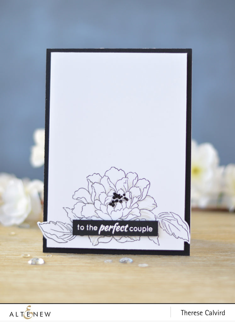 Build a Flower - Coral Charm Stamp and Die set