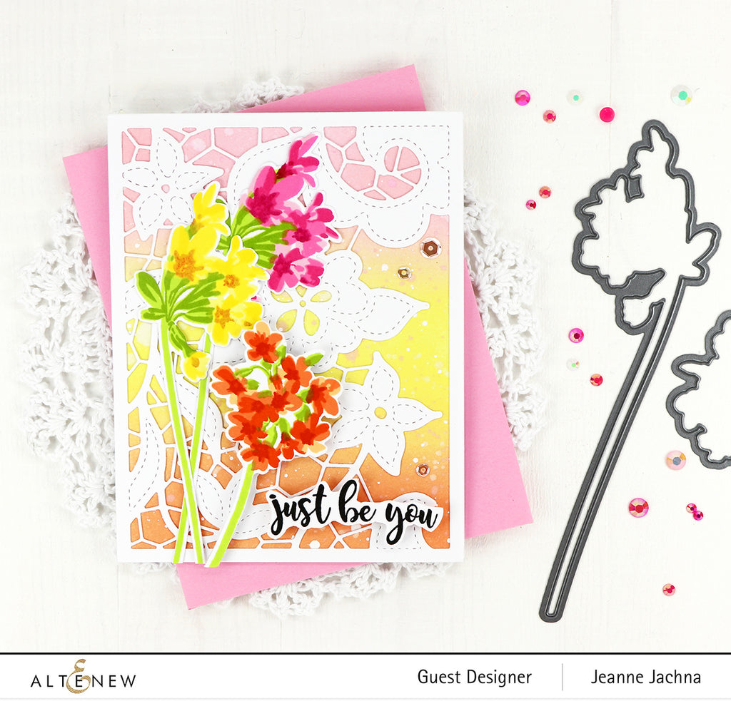 Delicate Clusters Stamp and Die Bundle