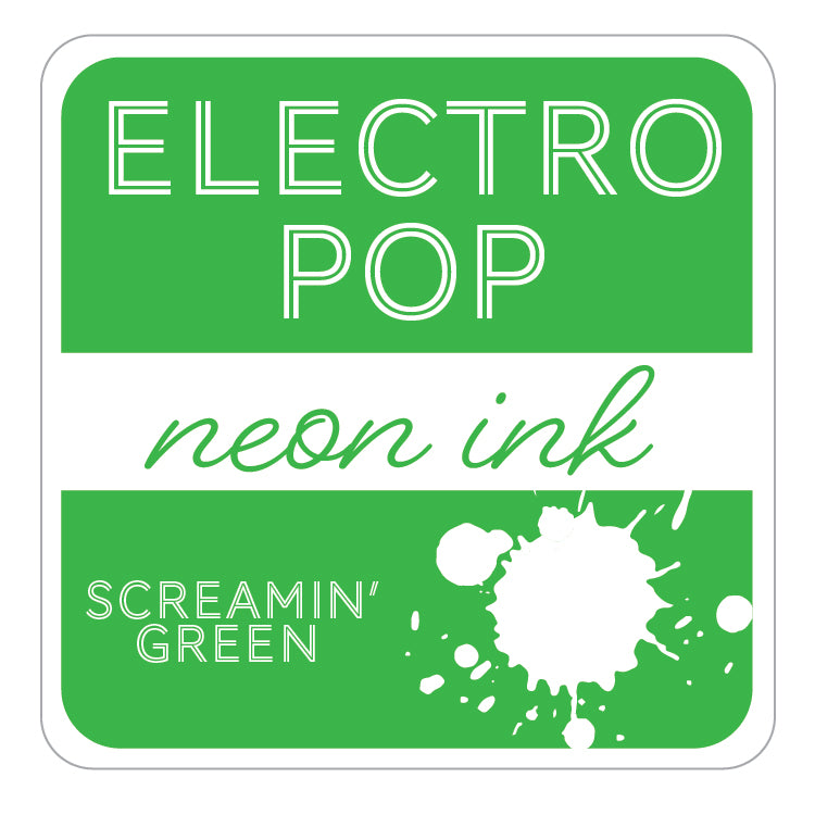 ElectroPop Ink - Screamin' Green