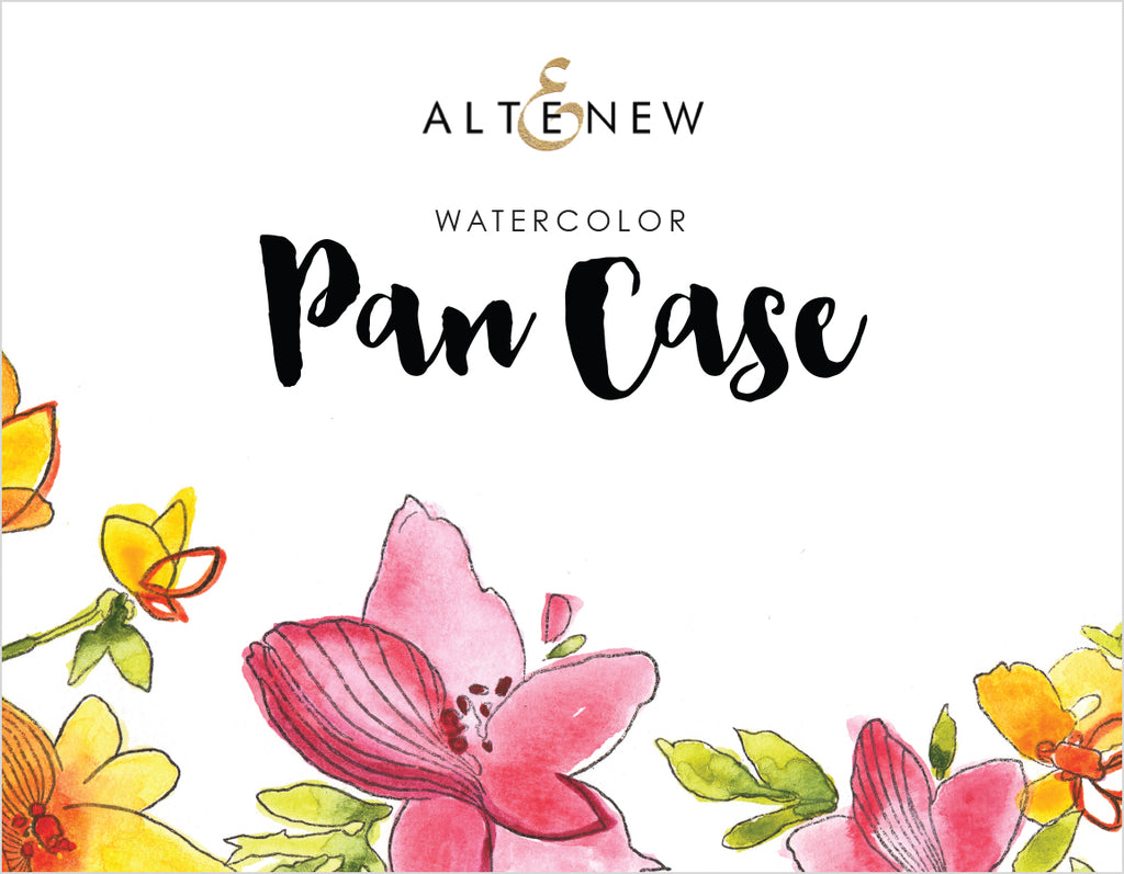 Watercolour Pan Case - empty