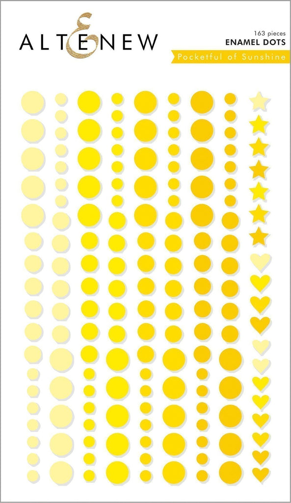 Pocketful of Sunshine Enamel Dots - Altenew