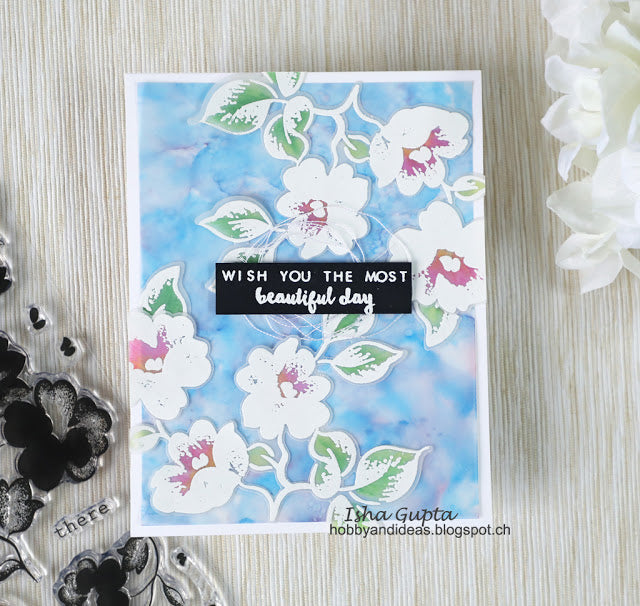 Frosted Garden Stamp Set