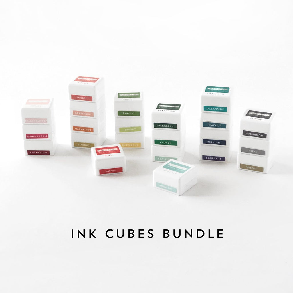 Ink Cubes Bundle - Concord & 9th