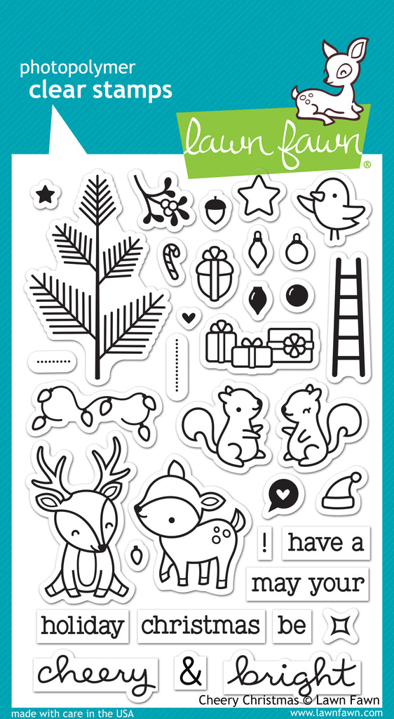 Cheery Christmas Clear Stamps