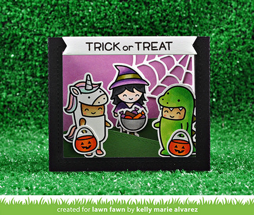 Costume Party Clear Stamps | Lawn Fawn