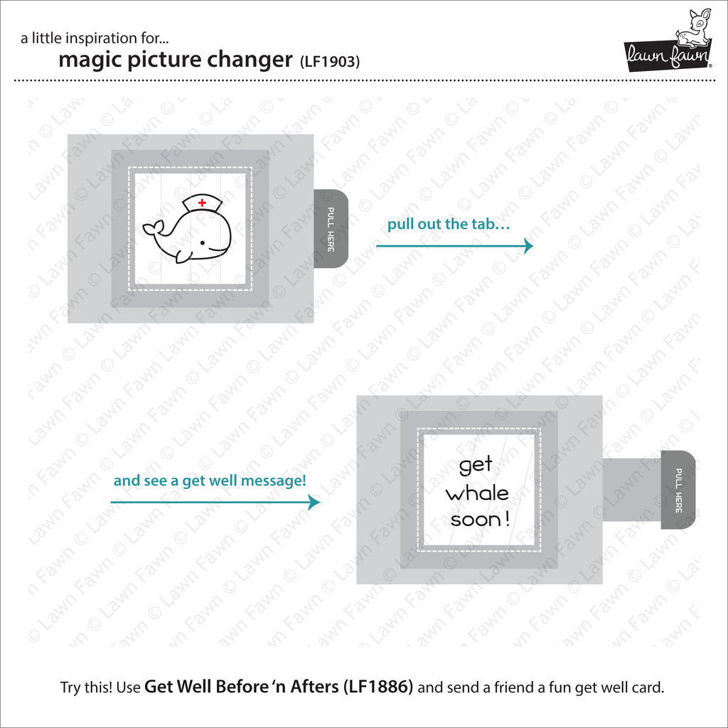 Magic Picture Changer Dies - Lawn Fawn Lawn Cuts