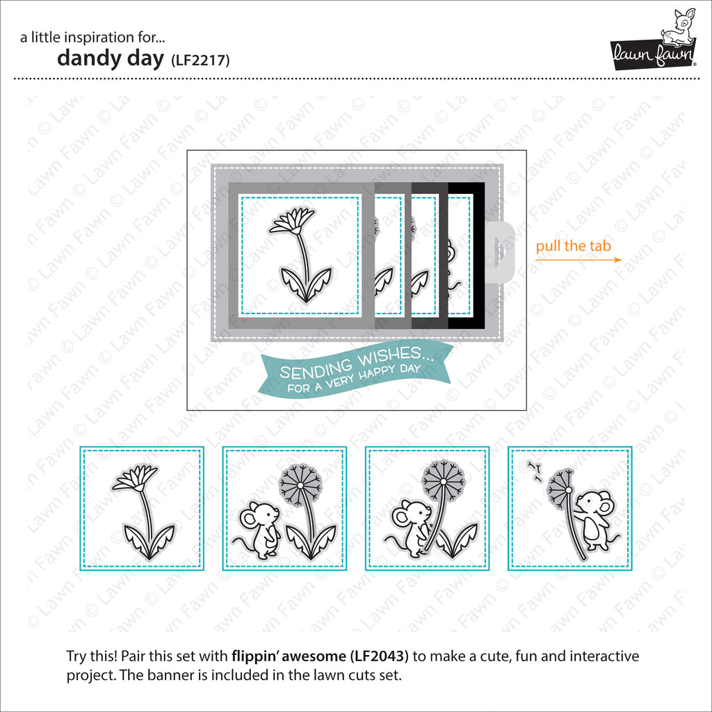 Dandy Day Clear Stamps