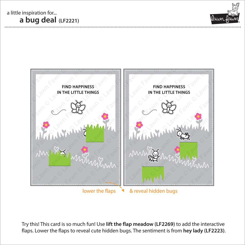 A Bug Deal Clear Stamps