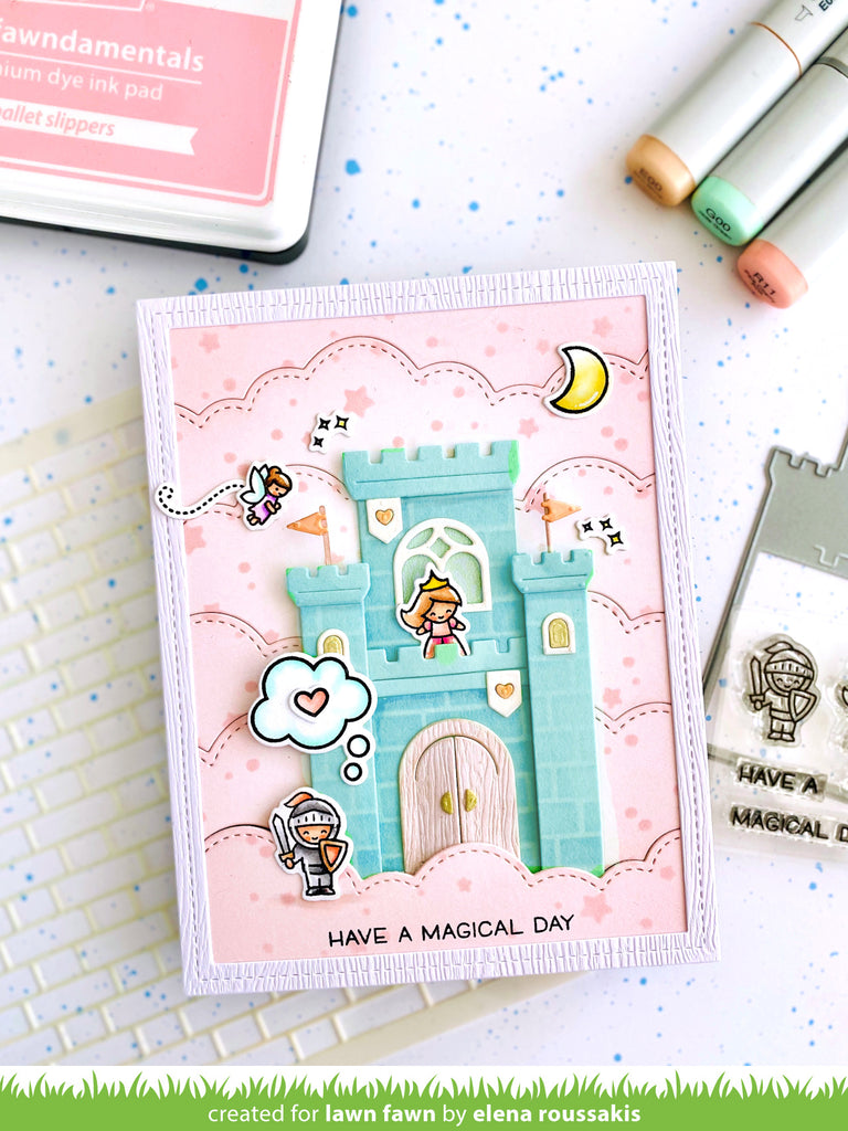 Tiny Fairy Tale Clear Stamps